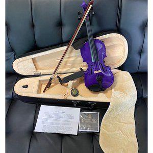 Mendini by Cecilio Size 1/8 MV-Purple Violoin